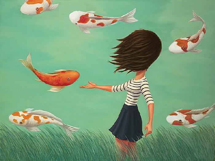 Летающие рыбки: добрые рисунки Руэля Паскуаля