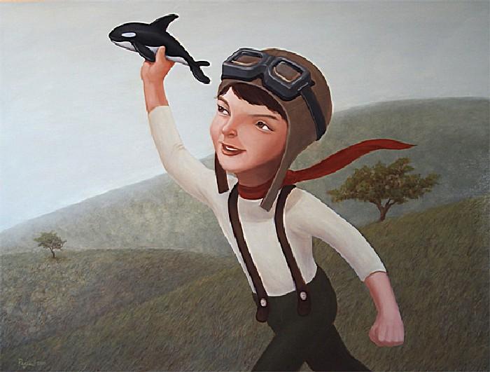 Летчик: добрые рисунки Руэля Паскуаля