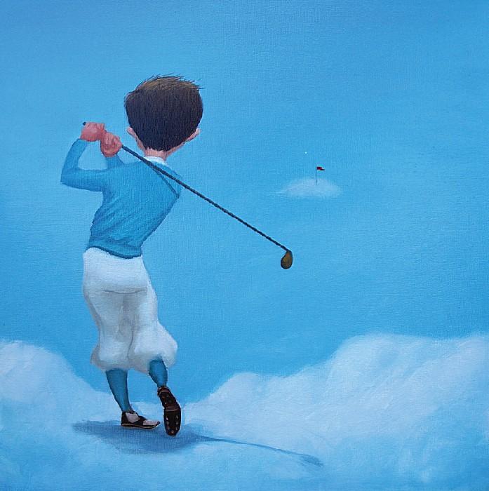 Небесный гольф не терпит суеты
