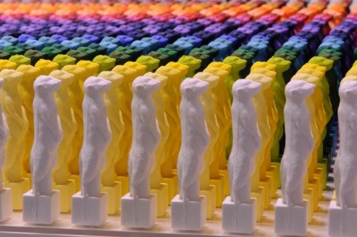 Современная скульптура в поддержку вымирающих животных: творчество Рио Шимуры