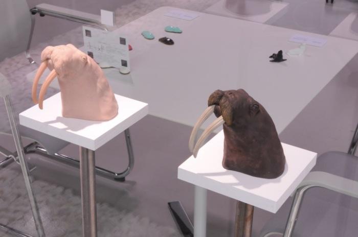 Скульптуры Рио Шимуры в поддержку вымирающих видов