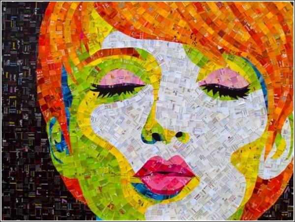 Фрески, рукоделие, дизайн, мозаичные картины. Сэнди Шиммель Голд - мастер на все руки