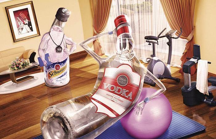 На самом интересном месте: креативная реклама о частной жизни напитков