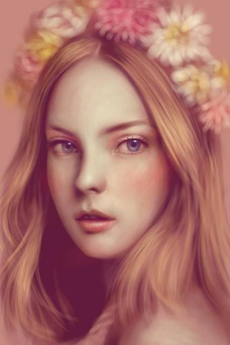 Искусство портрета: цифровая живопись Сейку Ямаоки