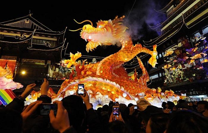 Драконовские мероприятия: празднование китайского нового года в Шанхае