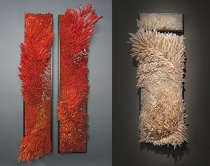 Яркие кораллы: стеклянные поделки Шайны Лейб