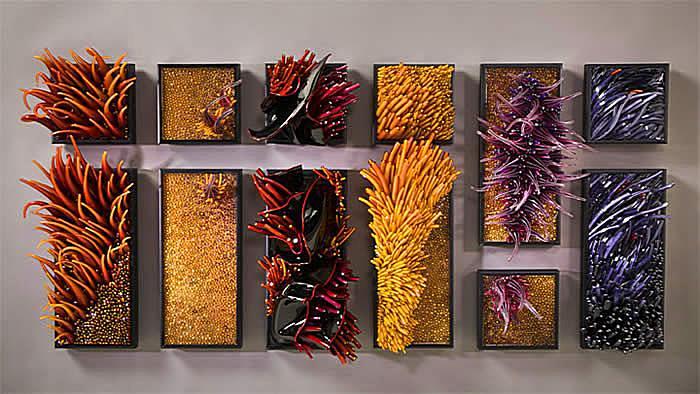Кораллы и течение: стеклянные поделки Шайны Лейб