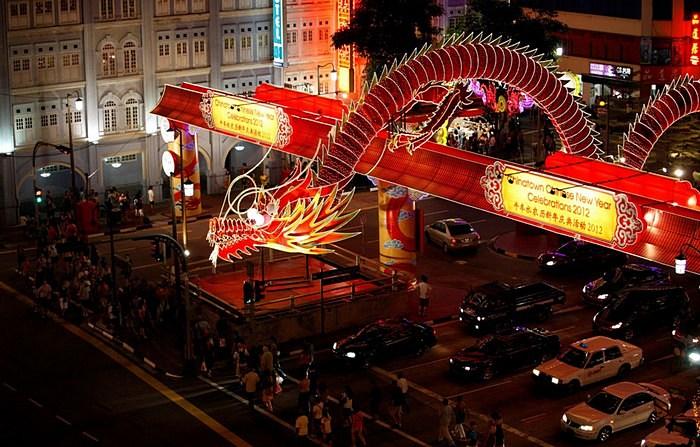 Сингапур: празднование китайского нового года