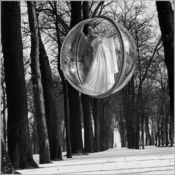 Зима. А в пузыре - вечное лето