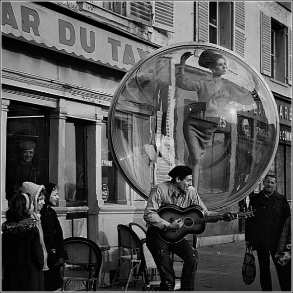 Парижские пляски: черно-белые снимки Мелвина Соколски
