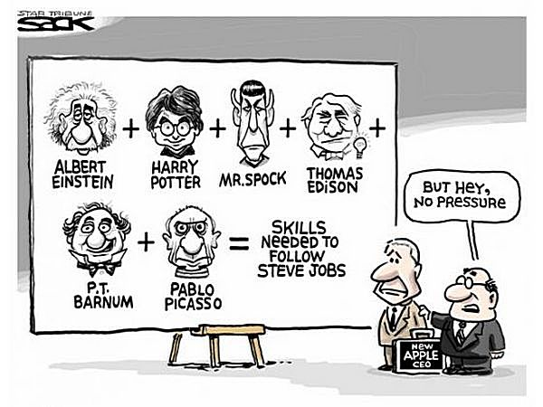 Рецепт Джобса: Эйнштейн, Спок, Эдисон, Пикассо...