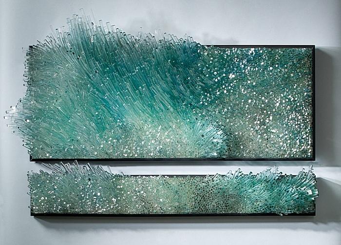 «Ветер и вода»: стеклянные поделки Шайны Лейб