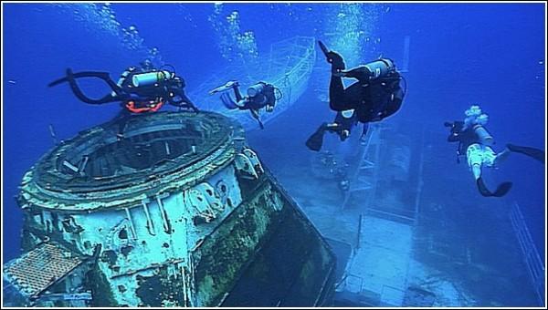 Ценители искусства сплываются на выставку: подводные фотографии Андреаса Франке