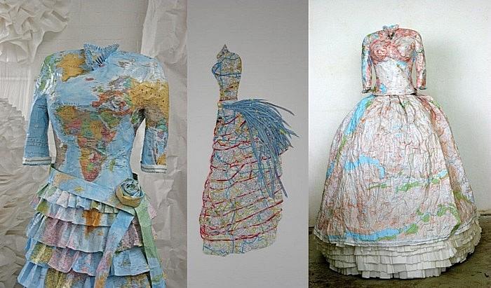 Викторианская колонизаторская мода: бумажные платья Сьюзен Стокуэлл