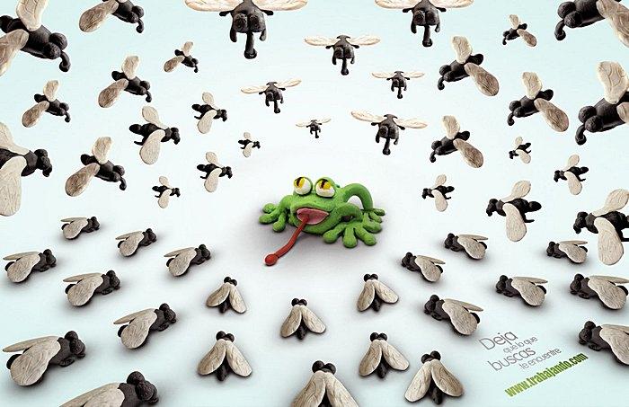 Но вот пришла лягушка: неделовая реклама деловой социальной сети