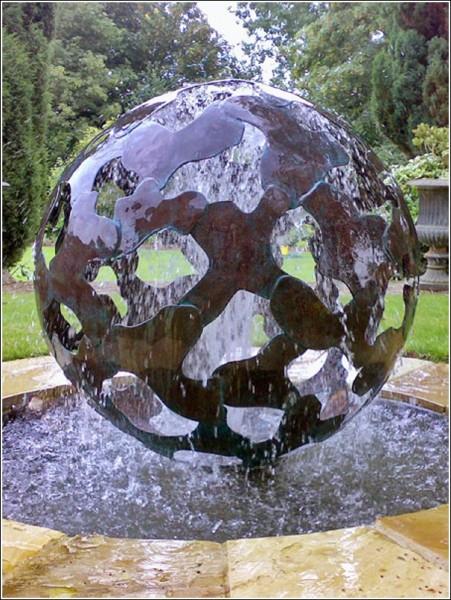 Парковая скульптура Джайлса Рейнера: «Тектоника»