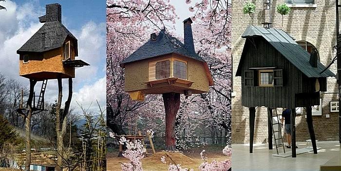 Чайный домик на курьих ножках: строительные эксперименты Терунобу Фудзимори