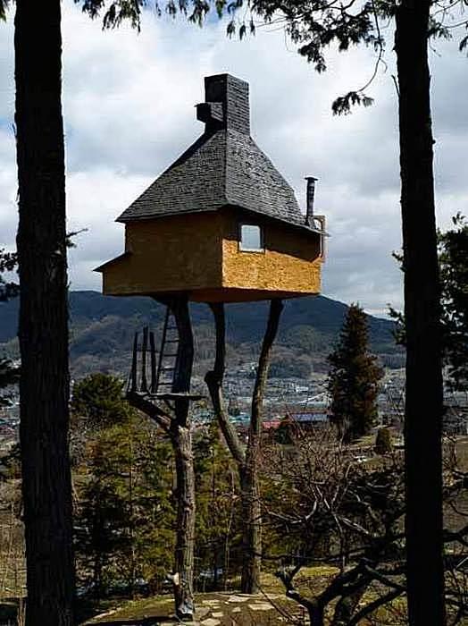 Чайный домик или сказочная избушка? Проекты Терунобу Фудзимори