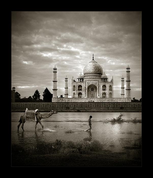 Старинная архитектура и современность: черно-белые снимки Тамера Аль-Тассана