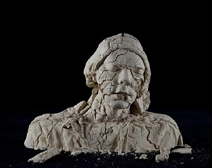 Время разрушает все: необычные скульптуры Тима Силвера