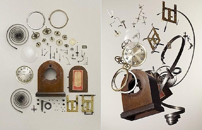 Как разобрать часы, телефон и газонокосилку: фотопроект Тодда Маклеллана «Размонтирование»