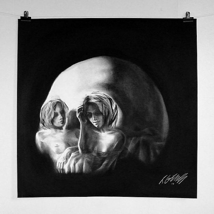 Не более чем череп: картины Тома Френча в жанре ванитас