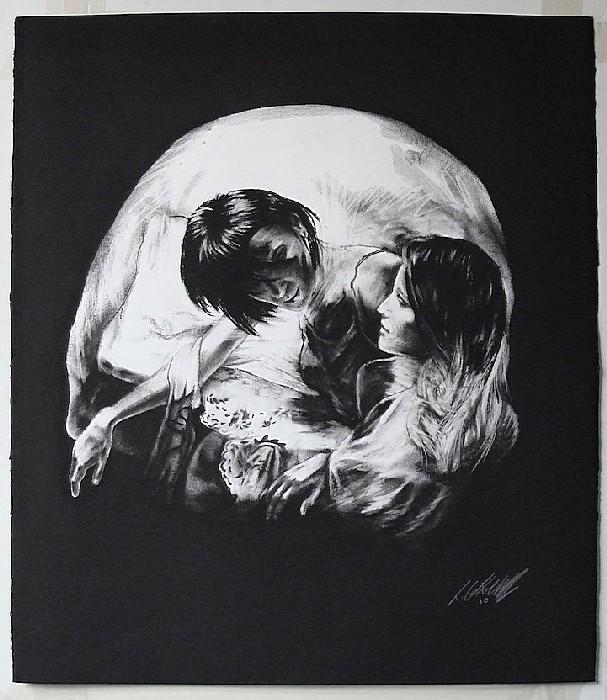 Прекрасное и отвратительное на  картинах Тома Френча