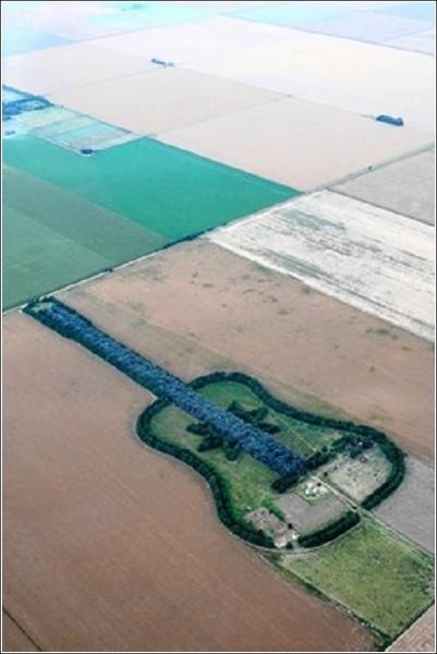 Загородный ландшафтный дизайн Педро Мартина Уреты: кипарисы и эвкалипты