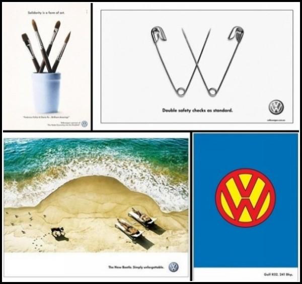 Ничего лишнего: креативная реклама «Фольксвагена»