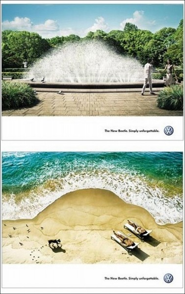 Креативная реклама «Фольксвагена»: незабываемое авто