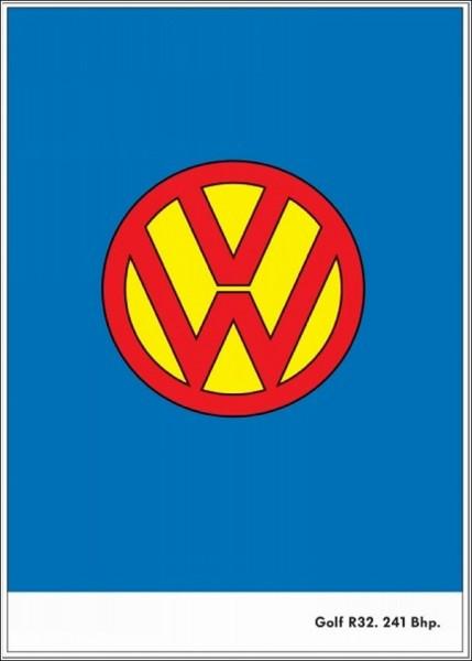 Креативная реклама «Фольксвагена»: супермашина для Супермена