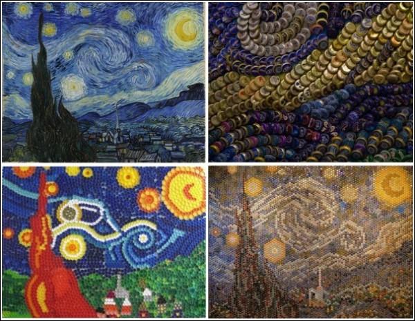Жесть, а не Ван Гог: «Звездная ночь» и ее современные интерпретации