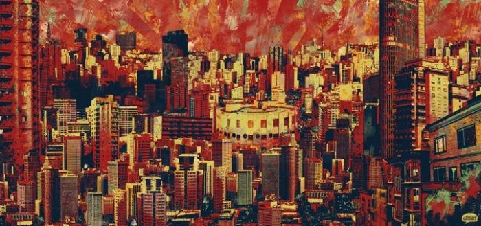 Городской пейзаж: необычные картины Виниция Кесады