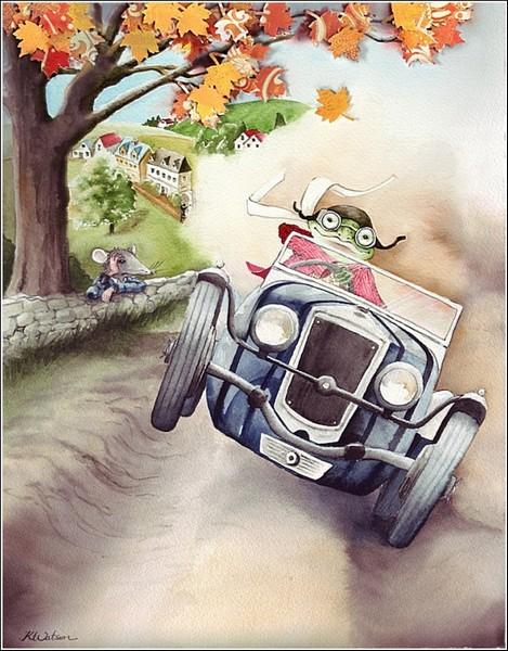 *Ветер в ивах*: иллюстрации к книгам Карен Уотсон