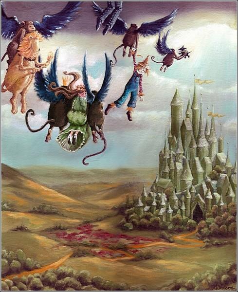*Волшебник страны Оз*: иллюстрации к книгам Карен Уотсон