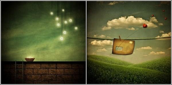 Звезды и письма: волшебные рисунки Дженнет Войцик