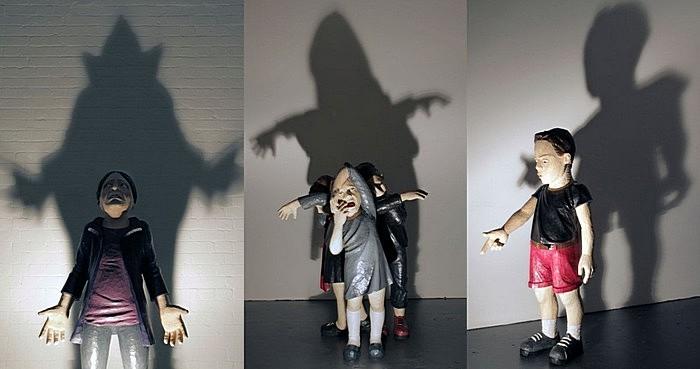 Детки с тенью: современная скульптура Ясама Сасмазера