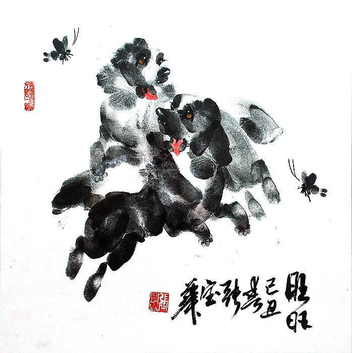 Собачья жизнь: непростое рисование руками