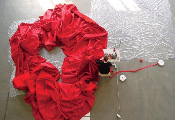 550 метров ткани = 1 концертное платье