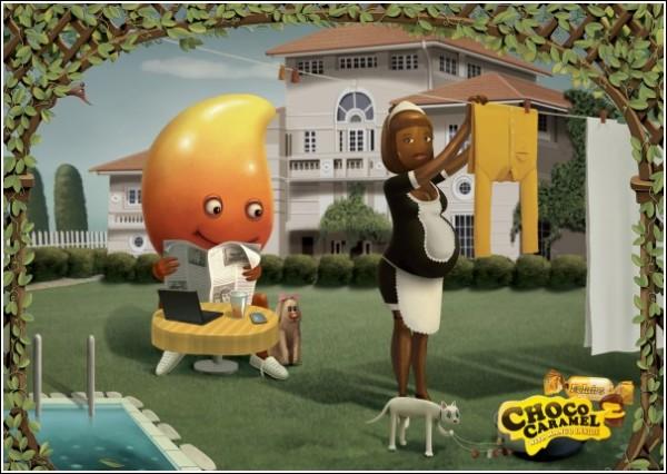 Карамель, беременная от манго: недетская реклама конфет