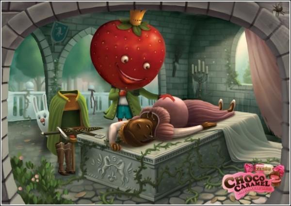 Карамель, беременная от клубники: недетская реклама конфет