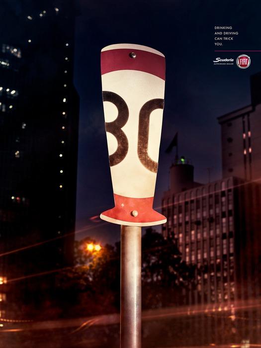 Резьба по дорожным знакам: креатив и социалка
