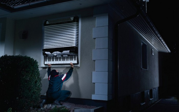 Воровать - так с музыкой! Реклама сигнализации для дома