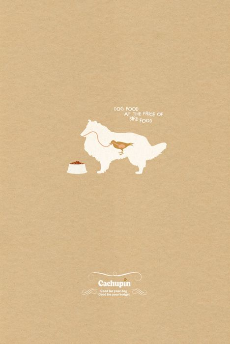 Чтобы пес ел как птичка: реклама собачьего корма