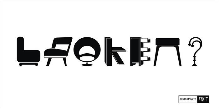 «Broken?» («Сломалось?») Оригинальная реклама ремонтной мастерской
