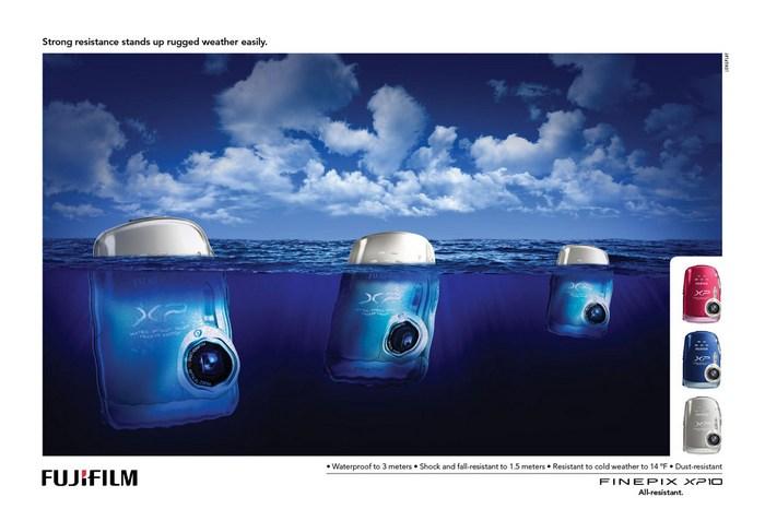 Киты-фотоаппараты: креативная реклама *Фуджи*