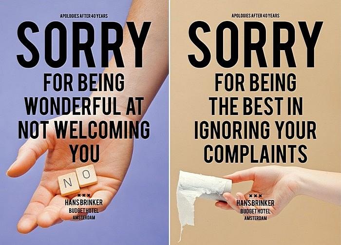 Дешево и самокритично: ироничная реклама гостиницы экономкласса