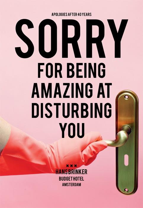 Ироничная реклама гостиницы: *Простите, что блестяще умеем вас беспокоить*