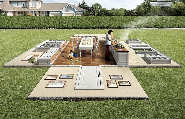 Пикничок на лужайке: реклама вентиляции для кухни