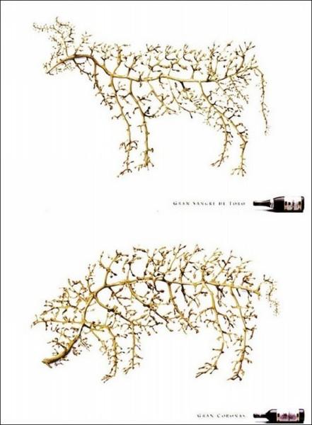 Костяк застолья: забавная реклама вина